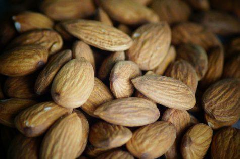 almond, nuts, food