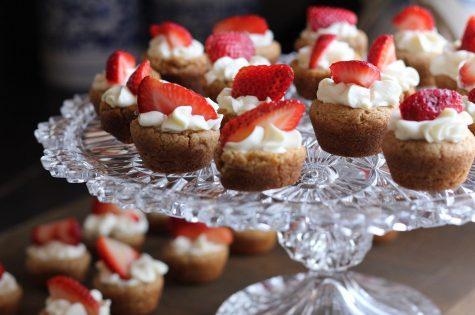 dessert, cupcakes, food