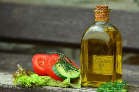 oil, olive oil, bottle